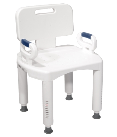 Drive Medical Shower Chair Removable Arm 20.5 Inch